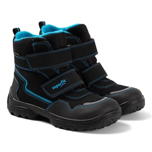 Superfit Snowcat Vinterstøvler Black/Blue Estate 20 EU