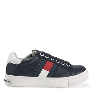 Tommy Hilfiger Flag Logo Sneakers Navy 30 (UK 12)