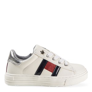 Tommy Hilfiger Flag Logo Sneakers White 28 (UK 10)