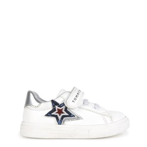 Tommy Hilfiger Star Branded Sneakere Hvide 26 EU