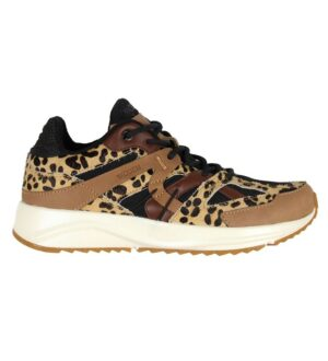 Woden Sko - Eve Animal Fifty - Leopard