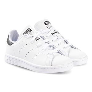 adidas Originals Stan Smith Sneakers Hvid og Sort 32 (UK 13.5)