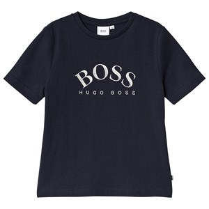 BOSS Capsule Logo T-shirt Navyblå 6 years