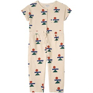 Bobo Choses Balance Print Jumpsuit Cream 2-3 år