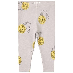 Bobo Choses Pet A Lion Leggings Gray 12-18 mdr