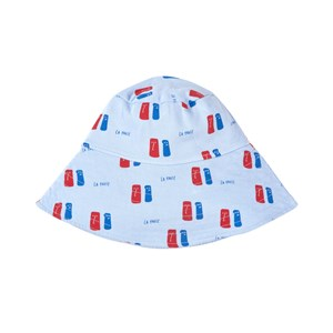 Bonmot Organic Hat Fleece La Pause Light Blue 54 cm