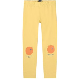 Bonmot Organic Legging Enjoy Sunshine Yellow 2-3 år