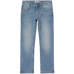 Calvin Klein Jeans SLIM ESS LIGHT BLUE STR 6 år