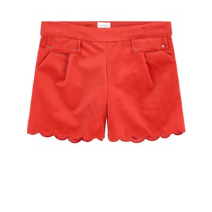 Carrément Beau Velvet Shorts Red 3 år