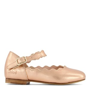 Chloé Ballerina Leather Shoes Copper 25 (UK 8)