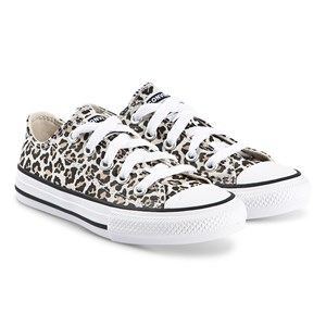 Converse Leopard Chuck Taylor Sneakers Drift Wood 27 (UK 10)