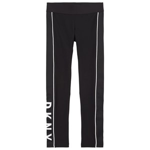 DKNY Branded Summer Leggings Black 8 år