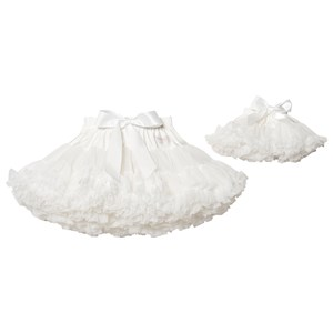DOLLY by Le Petit Tom Petti Nederdel Off white Petite (1-3 år)