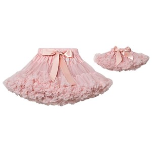 DOLLY by Le Petit Tom Queen Of Roses Petti-nederdel Rose Pink Newborn (3-18 mdr)