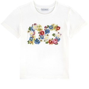 Dolce & Gabbana Mini Me graphic T-shirt - Blooming 6 år