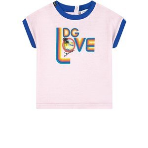 Dolce & Gabbana Mini Me graphic T-shirt - Blooming Summer 6-9 mdr