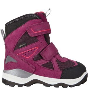 Ecco Vinterstøvler - Snow Mountain - TEX - Black/Red Plum