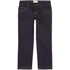 Fendi Branded Pocket Denim Jeans Blå 4 år