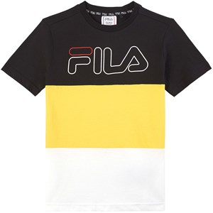 Fila Logo Colorblock T-shirt Gul 134-140cm (9-10 years)