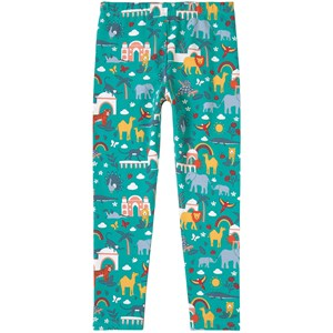Frugi Libby Leggings Jewel India 5-6 år