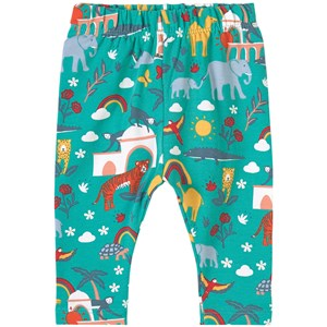 Frugi Libby Leggings Jewel India 6-12 months