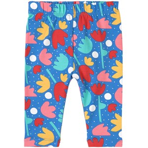 Frugi Libby Leggings Lotus Bloom 3-6 months