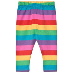 Frugi Libby Stripe Leggings Rainbow 5-6 years