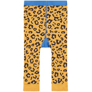 Frugi Little Knitted Leggings Leopard Spot/Leopard 0-6 mdr