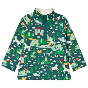 Frugi Snuggle Fleece Sweatshirt Scots Pine Fairytale 12-18 mdr