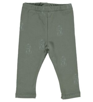 Gro Leggings - Malak - Grey Green