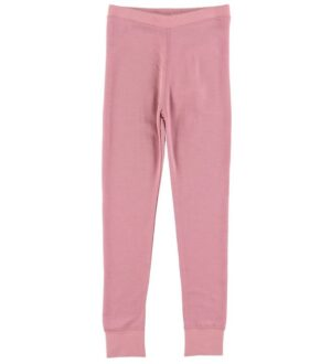 Hust and Claire Leggings - Laso - Uld/Bambus - Rosa