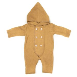 Huttelihut Elf Fleece Dragt - Ocre
