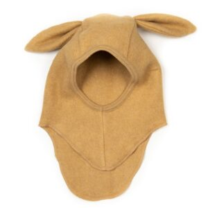 Huttelihut Fleece Elefanthue Rabbit - Ocre