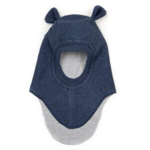 Huttelihut Fleece Elefanthue Teddy - Navy