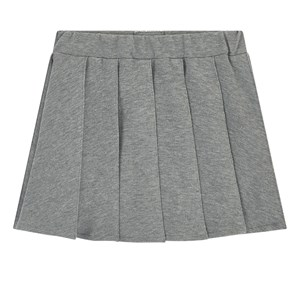 Il Gufo Fleece pleated skirt