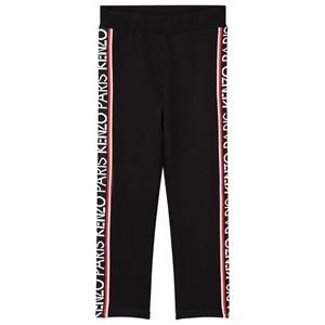 Kenzo Tape Logo Leggings Sorte 5 years