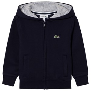 Lacoste Zippered Fleece Sweatshirt Navy 4 years