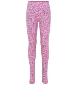 Lego Wear Leggings - Pink m. Print