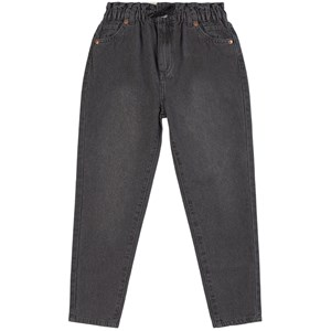 Levis Kids Black High Loose Paperbag Jeans 8 år