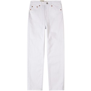 Levi's Kids High Loose Paperbag Jeans Beige 10 år