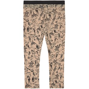 Little Creative Factory Playground Print Leggings Cremefarvede 2 år