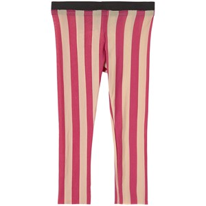 Little Creative Factory Playground Stripe Leggings Candy Pink Stripe 2 år