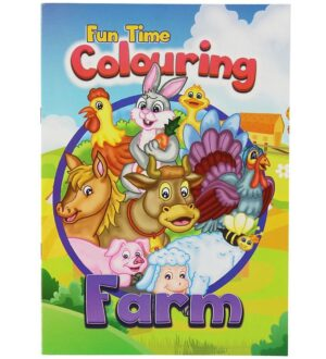 Malebog - Fun Time Colouring Farm - 16 Sider
