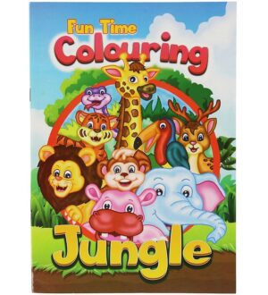 Malebog - Fun Time Colouring Jungle - 16 Sider
