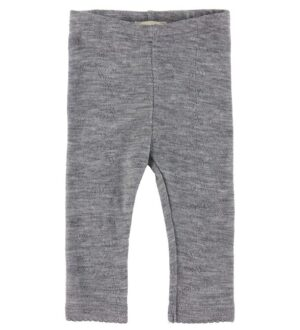 MarMar Leggings - Leg - Uld - Grey Melange