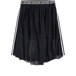 Mayoral Black Tulle Overlay Shorts 8 år