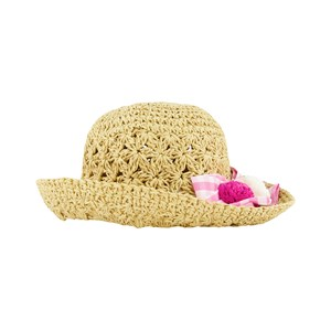 Mayoral Pink Bow and Flower Hat 51 (2-4 years)