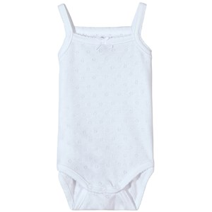 Mayoral Pointelle Baby Body White 6-9 mdr