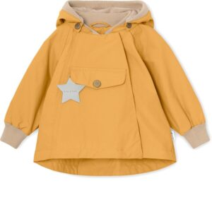 Mini A Ture Wai Jakke m. Fleece - Waxed Honey