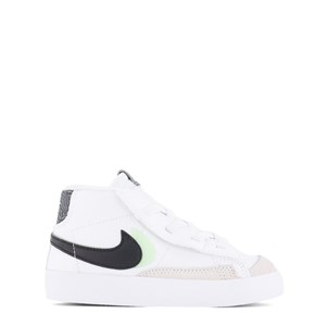 NIKE White and Black Blazer Mid ´77 Suede Infant Trainers 26 (UK 8.5)